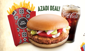 McDonald's is celebrating Azadi with ethnic package designs