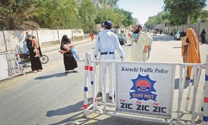 Five Karachi traffic police officials suspended over suspected corruption