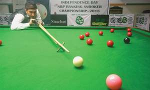 Ijaz topples Asif to reach ranking snooker final