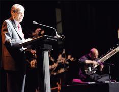 Zia Mohyeddin captivates audience at evening recital