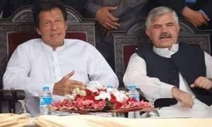 PTI set to form govt in KP on its own