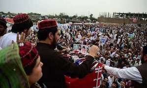 Pashteen vows to continue struggle for Pakhtun rights