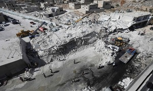 Death toll from Syrian explosion go up to 67, says Syrian volunteer group
