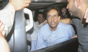 Capt Safdar shifted to Adiala jail from Pims