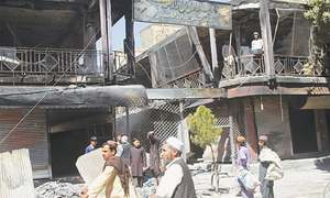 Ghazni residents emerge after Taliban pushed from city
