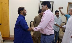 'Slapping' of citizen: PTI MPA Imran Ali Shah suspended until disciplinary committee takes final decision