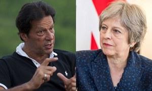 برطانوی وزیراعظم کا عمران خان کو فون، جیت پر مبارکباد