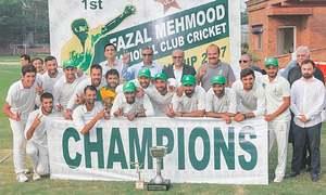 Pakistan CC clinch Fazal Mahmood title in style