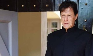 عمران خان کی شیروانی مرکزِ نگاہ