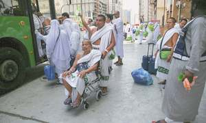 Over two million pilgrims begin Haj