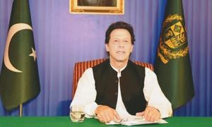 Imran outlines his vision, says change will begin at top