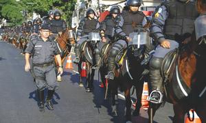 Brazil sends troops after clashes at Venezuelan border