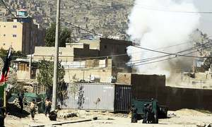 Kabul attacks come to an end, 2 militants killed, says Afghan military