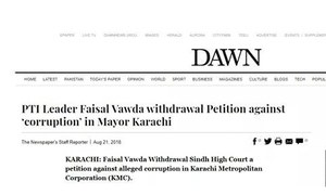 Fake news screenshot posing as Dawn.com site attempts to mislead public