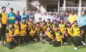 Peshawar clinch U-19 One-day Cup in style