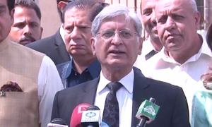 Aitzaz Ahsan hopeful of winning presidential election with 'vote of conscience'