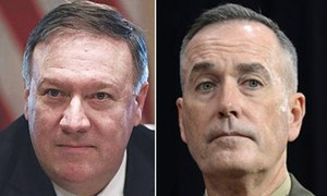US military chief coming with Pompeo to Pakistan for talks on terrorism