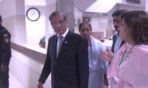 Sharjeel Memon sent back to jail after 'liquor bottles' recovered from hospital room