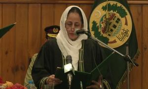 کوئٹہ: سیدہ طاہرہ صفدر پہلی خاتون چیف جسٹس مقرر