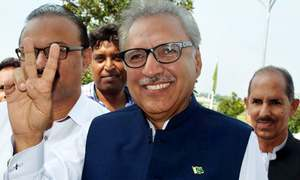 Arif Alvi: The 'founder' of PTI also rises