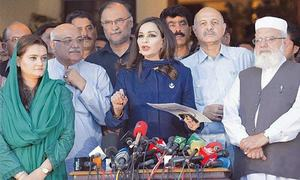 PPP, PML-N indulge in blame game after facing humiliation in presidential poll