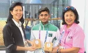 WBSC official praises Pakistan, young Shiraz for Asiad baseball show