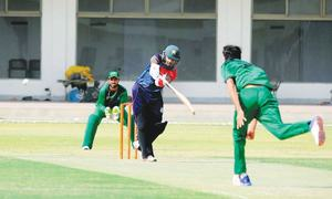 Discarded Hafeez makes his mark on domestic return