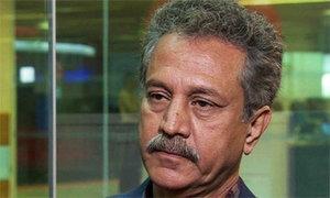 میئر کراچی وسیم اختر کی سرکاری گاڑی چھن گئی