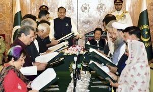 وفاقی کابینہ میں 4 وزرا کا اضافہ، میاں سومرو، مراد سعید بھی شامل