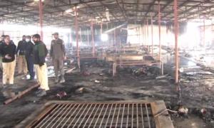 لاہور کی 200 کثیر المنزلہ عمارتیں فائرسیفٹی آلات سے محروم
