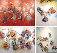Solo exhibition explores the people and colours of Thar