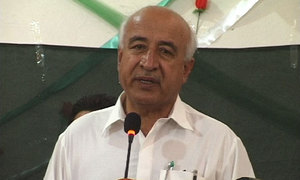 Ex-CM calls for initiating dialogue with disgruntled Baloch leaders