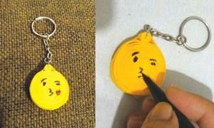 Wonder Craft: Emoji keychain