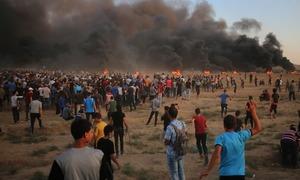 غزہ: اسرائیلی فوج کی فائرنگ سے بچے سمیت 3 فلسطینی جاں بحق