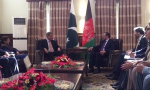FM Qureshi, Afghan president discuss bilateral ties, regional security in Kabul