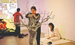 Performance art tackles societal issues