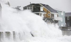 امریکا اور فلپائن میں طوفان سے تباہی