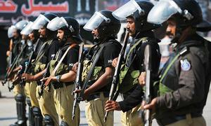 محرم الحرام: سندھ بھر میں 69 ہزار پولیس اہلکار سیکیورٹی کے فرائض انجام دیں گے
