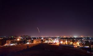 After Damascus raid, Israel says working to keep weapons from foes