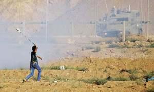 غزہ: اسرائیلی فوج کی شیلنگ سے فلسطینی لڑکا جاں بحق