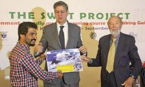 Call to open Swat mountains to foreign expeditions