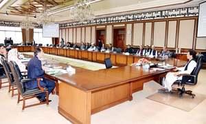 وفاقی کابینہ نے فنانس ترمیمی بل کی منظوری دے دی