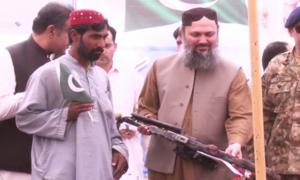 بلوچستان: ریاست مخالف 265 فراریوں نے ہتھیار ڈال دیے