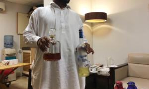 Sharjeel Memon named as suspect in liquor case challan