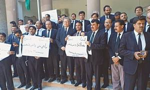 Protests against Kalabagh dam plan continue