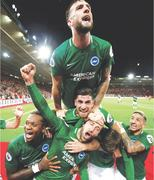 Late Murray penalty earns Brighton 2-2 draw at Southampton