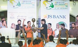 National Fighters win Aik Awam Unity Cup