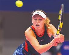 Giorgi ends Wozniacki's Tokyo reign