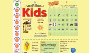 Website review: Almanac for kids