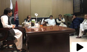ن لیگ کے رہنماء حنیف عباسی اڈیالہ سے اٹک جیل منتقل